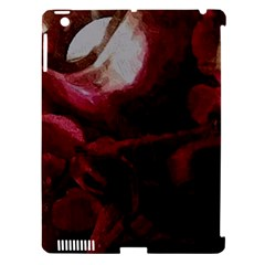 Dark Red Candlelight Candles Apple Ipad 3/4 Hardshell Case (compatible With Smart Cover) by yoursparklingshop
