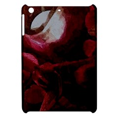 Dark Red Candlelight Candles Apple Ipad Mini Hardshell Case by yoursparklingshop