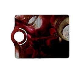 Dark Red Candlelight Candles Kindle Fire Hd (2013) Flip 360 Case by yoursparklingshop