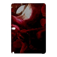 Dark Red Candlelight Candles Samsung Galaxy Tab Pro 10 1 Hardshell Case by yoursparklingshop