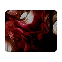 Dark Red Candlelight Candles Samsung Galaxy Tab Pro 8 4  Flip Case by yoursparklingshop