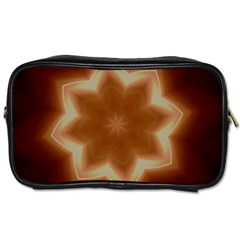 Christmas Flower Star Light Kaleidoscopic Design Toiletries Bags 2 Side by yoursparklingshop