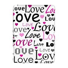 Love Pattern   Magenta Galaxy Note 1 by Valentinaart