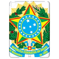 Coat Of Arms Of Brazil, 1968 1971 Apple Ipad Pro 9 7   Hardshell Case