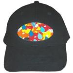 Bear Umbrella Black Cap