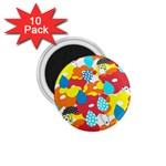 Bear Umbrella 1.75  Magnets (10 pack)