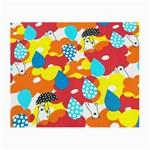 Bear Umbrella Small Glasses Cloth