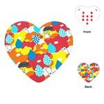 Bear Umbrella Playing Cards (Heart)