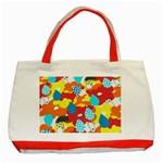 Bear Umbrella Classic Tote Bag (Red)