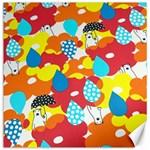 Bear Umbrella Canvas 12  x 12