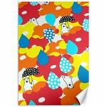 Bear Umbrella Canvas 12  x 18