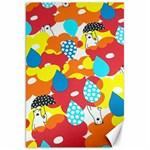 Bear Umbrella Canvas 20  x 30