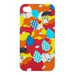 Bear Umbrella Apple iPhone 4/4S Premium Hardshell Case