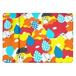 Bear Umbrella Samsung Galaxy Tab 10.1  P7500 Flip Case