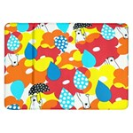 Bear Umbrella Samsung Galaxy Tab 8.9  P7300 Flip Case