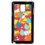 Bear Umbrella Samsung Galaxy Note 4 Case (Black)