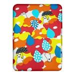 Bear Umbrella Samsung Galaxy Tab 4 (10.1 ) Hardshell Case