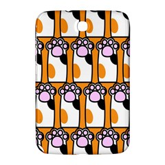 Cute Cat Hand Orange Samsung Galaxy Note 8 0 N5100 Hardshell Case  by AnjaniArt