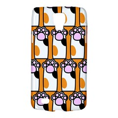 Cute Cat Hand Orange Galaxy S4 Active by AnjaniArt
