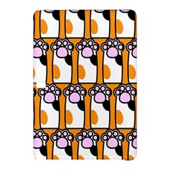 Cute Cat Hand Orange Samsung Galaxy Tab Pro 12 2 Hardshell Case by AnjaniArt