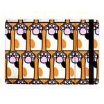 Cute Cat Hand Orange Samsung Galaxy Tab Pro 10.1  Flip Case