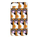 Cute Cat Hand Orange Apple iPhone 7 Plus Hardshell Case
