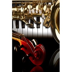 Classical Music Instruments 5 5  X 8 5  Notebooks by AnjaniArt