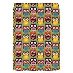 Eye Owl Colorful Cute Animals Bird Copy Flap Covers (s)  by AnjaniArt