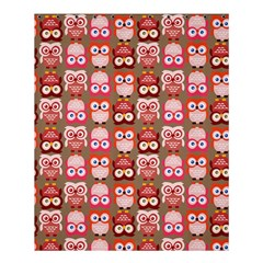 Eye Owl Colorfull Pink Orange Brown Copy Shower Curtain 60  X 72  (medium)  by AnjaniArt