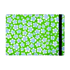 Flower Green Copy Apple Ipad Mini Flip Case by AnjaniArt