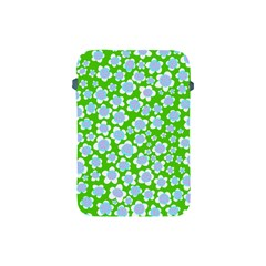 Flower Green Copy Apple Ipad Mini Protective Soft Cases by AnjaniArt