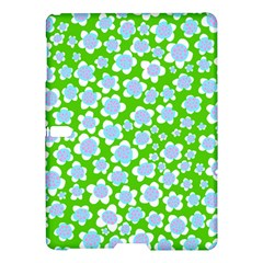 Flower Green Copy Samsung Galaxy Tab S (10 5 ) Hardshell Case  by AnjaniArt