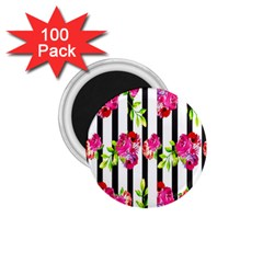 Flower Rose 1 75  Magnets (100 Pack)  by AnjaniArt