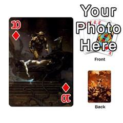 Baraja Frazetta By Fran Xab   Playing Cards 54 Designs   Qmfnhc5m5vwg   Www Artscow Com Front - Diamond10