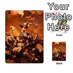Baraja Frazetta By Fran Xab   Playing Cards 54 Designs   Qmfnhc5m5vwg   Www Artscow Com Back