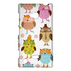 Highres Owls Nokia Lumia 720 by AnjaniArt