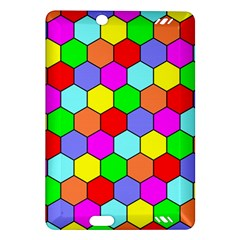 Hexagonal Tiling Amazon Kindle Fire Hd (2013) Hardshell Case by AnjaniArt