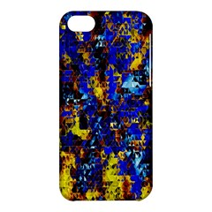 Network Blue Color Abstraction Apple Iphone 5c Hardshell Case by AnjaniArt