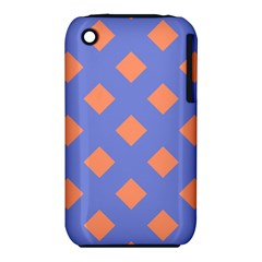 Orange Blue Iphone 3s/3gs by AnjaniArt