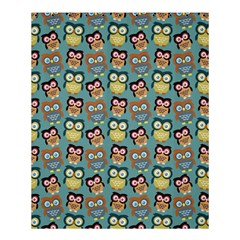 Owl Eye Blue Bird Copy Shower Curtain 60  X 72  (medium)  by AnjaniArt