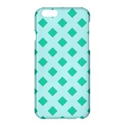 Plaid Blue Box Apple iPhone 6 Plus/6S Plus Hardshell Case