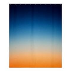 Rainbow Blue Orange Purple Shower Curtain 60  X 72  (medium)  by AnjaniArt
