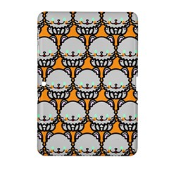 Sitpersian Cat Orange Samsung Galaxy Tab 2 (10 1 ) P5100 Hardshell Case  by AnjaniArt