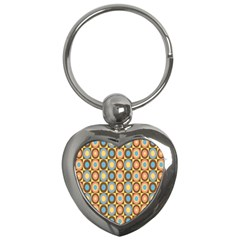 Round Color Key Chains (heart)  by AnjaniArt