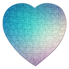 Background Blurry Template Pattern Jigsaw Puzzle (Heart)