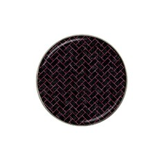 Brick2 Black Marble & Pink Marble Hat Clip Ball Marker (4 Pack) by trendistuff