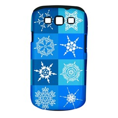 Background Blue Decoration Samsung Galaxy S III Classic Hardshell Case (PC+Silicone)