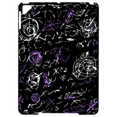Abstract Mind   Purple Apple Ipad Pro 9 7   Hardshell Case