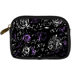 Abstract Mind   Purple Digital Camera Cases by Valentinaart