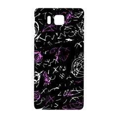 Abstract Mind   Magenta Samsung Galaxy Alpha Hardshell Back Case by Valentinaart